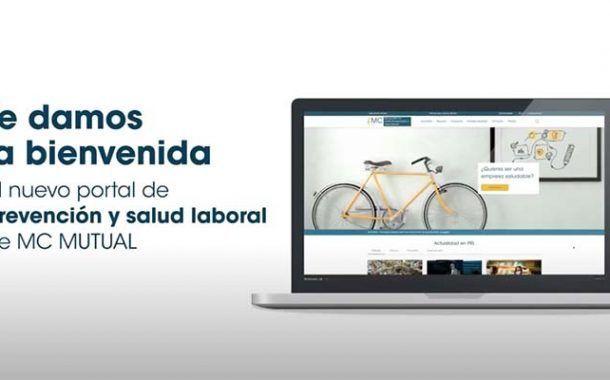 MC MUTUAL lanza un portal dedicado a la prevención y a la salud laboral