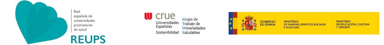 Red Española de Universidades Saludables (REUS)
