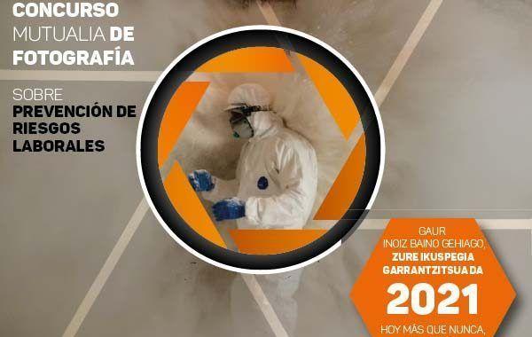 XVIII Concurso Mutualia de Fotografía sobre Prevención de Riesgos Laborales
