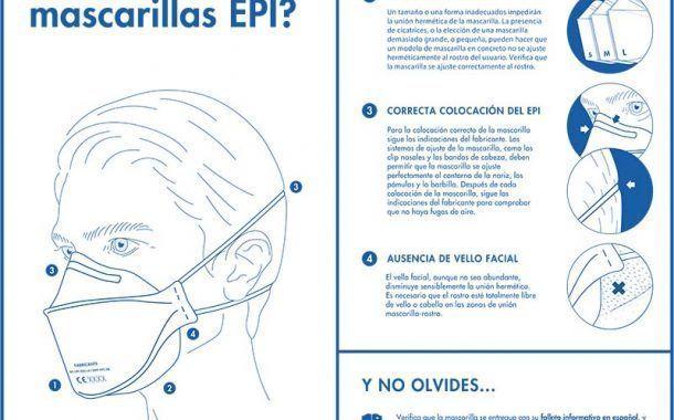 4 claves para asegurar la eficacia de las mascarillas