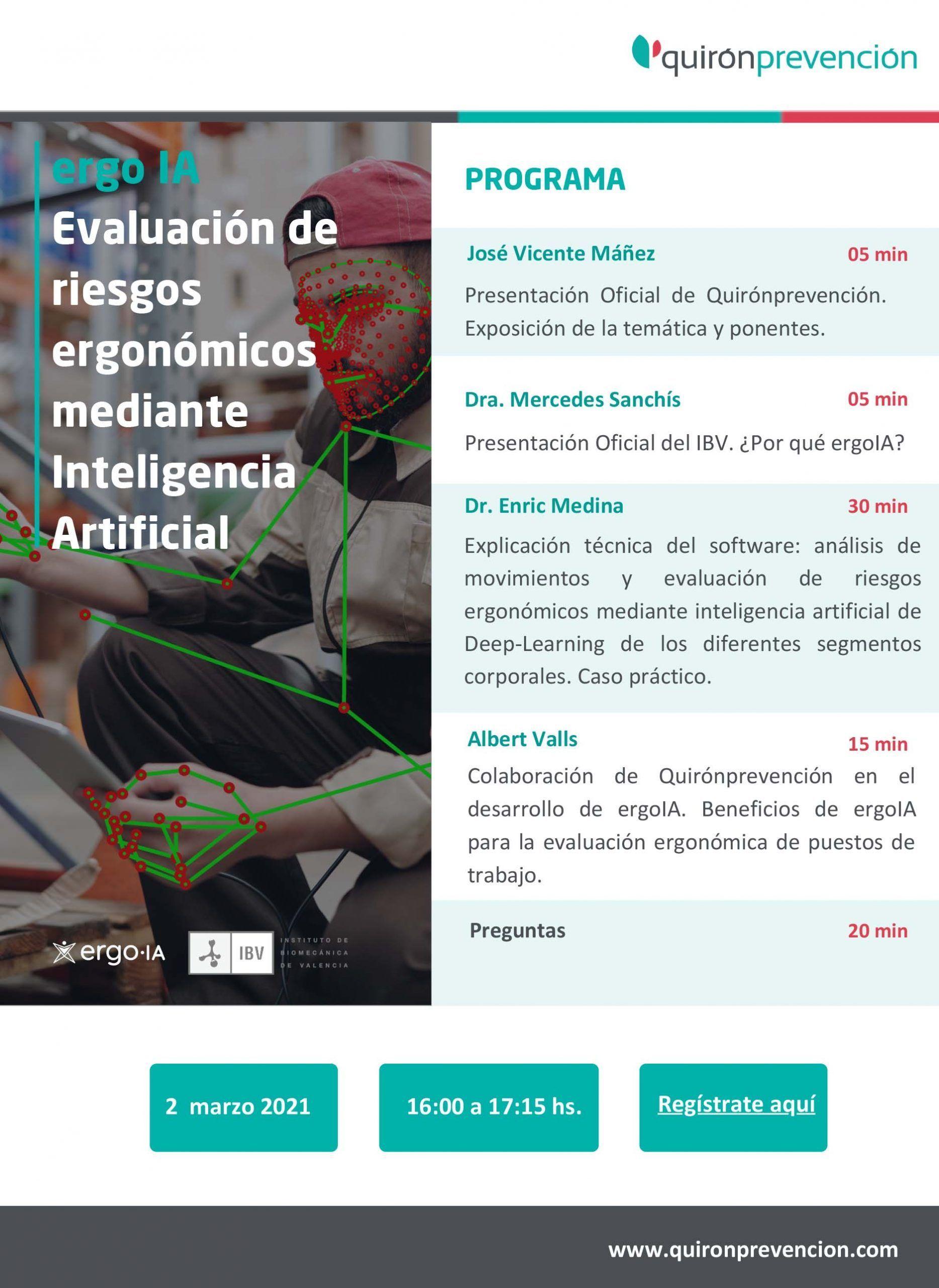 ergoIA Evaluación de riesgos ergonómicos mediante Inteligencia Artificial