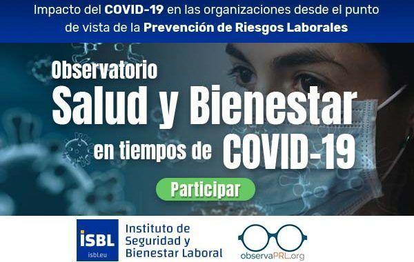 Observatorio Salud y Bienestar - Último día para participar
