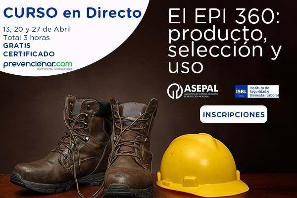 El EPI 360: producto, selección y uso #Curso #Gratis