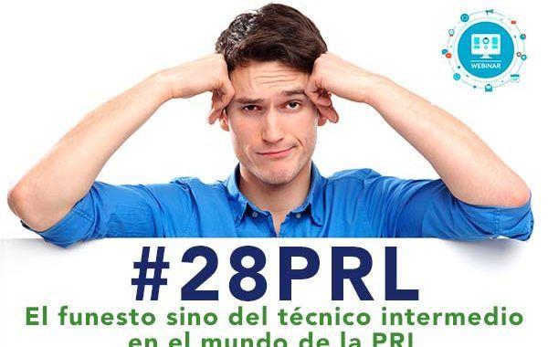 El funesto sino del técnico intermedio en el mundo de la PRL #webinar