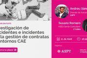 Webinar Gratuito | Investigación de Accidentes e Incidentes en la Gestión de Contratas y Entornos CAE