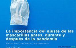 La importancia del ajuste de las mascarillas antes, durante y después de la pandemia
