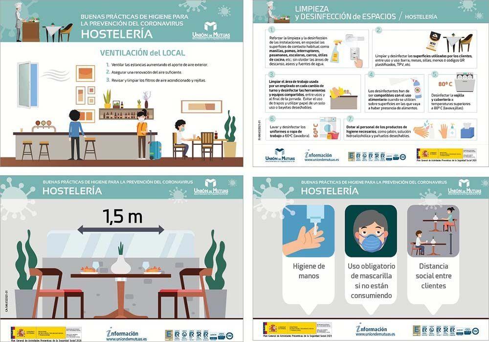 La prevención del Covid-19 en la hostelería
