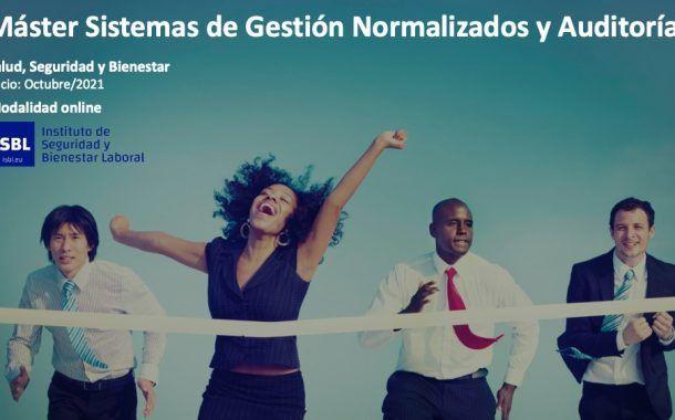 Master Sistemas de Gestión Normalizados y Auditorías - Octubre  2021 - Matriculas Abiertas