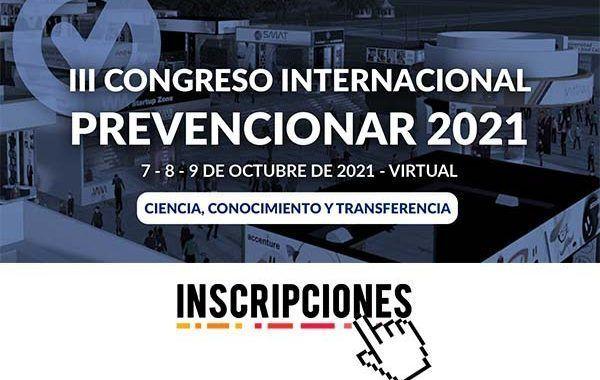 Congreso Prevencionar 2021: Inscripciones Abiertas
