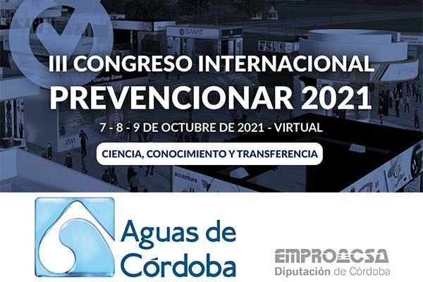 La Empresa Provincial de Aguas de Córdoba, EMPROACSA se convierte en Patrocinador del III Congreso Internacional Prevencionar
