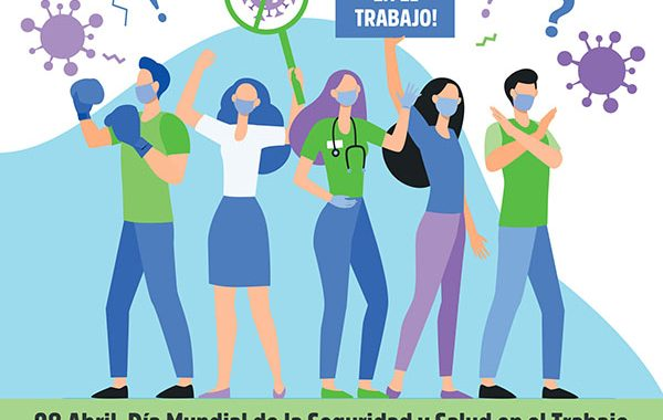 28 de abril. Día Mundial de la Seguridad y la Salud en el Trabajo. CSIF POR LA RESILIENCIA