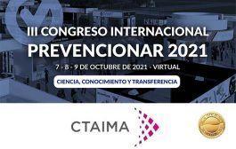 CTAIMA se convierte en patrocinador ORO del Congreso Internacional Prevencionar 2021
