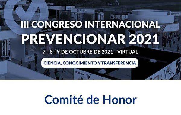 Comité de Honor del III Congreso Internacional Prevencionar