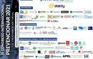 +50 organizaciones ya se han sumado al III Congreso Internacional Prevencionar