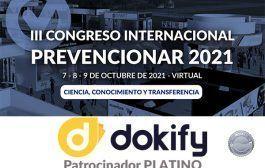 DOKIFY se convierte en Patrocinador PLATINO del III Congreso Internacional Prevencionar