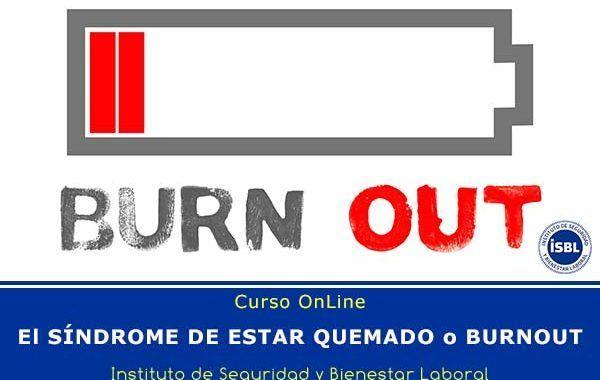 Curso OnLine: El sindrome de estar quemado o burnout