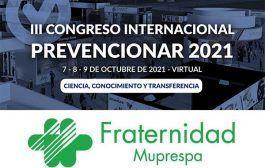 Fraternidad-Muprespa se suma al III Congreso Internacional Prevencionar