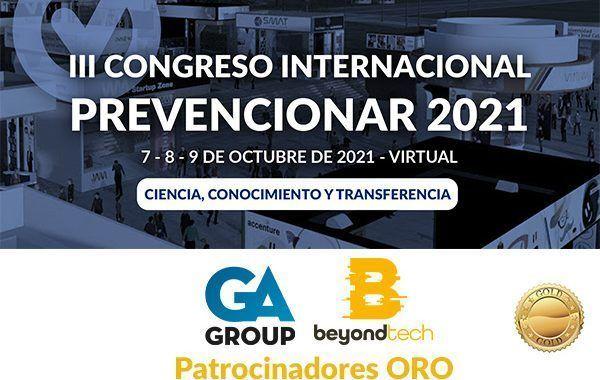 GA GROUP y Beyondtech se convierten en patrocinadores ORO del Congreso Internacional Prevencionar 2021