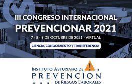 El Instituto Asturiano de Prevención se suma al III Congreso Internacional Prevencionar