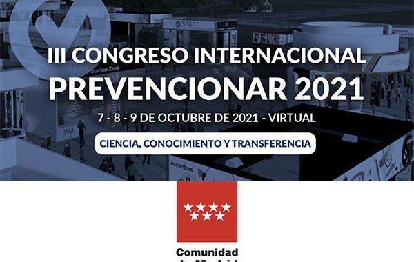 El IRSST de la Comunidad de Madrid se suma al III Congreso Internacional Prevencionar