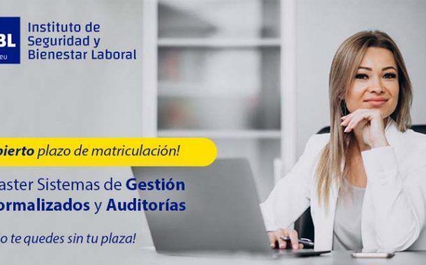 Master Sistemas de Gestión Normalizados y Auditorías - Inicio 12 de Octubre