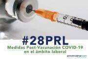 Medidas Post-Vacunación COVID-19 en el ámbito laboral #webinar