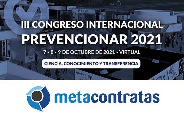 MetaContratas se convierte en patrocinador ORO del Congreso Internacional Prevencionar 2021