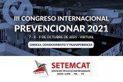 SETEMCAT se convierte en patrocinador del Congreso Internacional Prevencionar 2021
