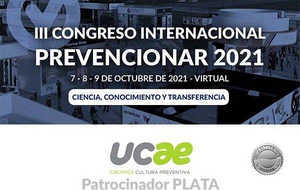 UCAE se convierte en patrocinador PLATA del III Congreso Internacional Prevencionar