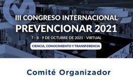 Comité Organizador del III Congreso Internacional Prevencionar
