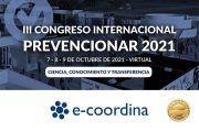 e-coordina se convierte en patrocinador ORO del Congreso Internacional Prevencionar 2021