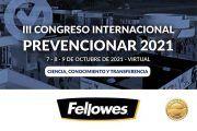 FELLOWES se convierte en patrocinador ORO del Congreso Internacional Prevencionar 2021