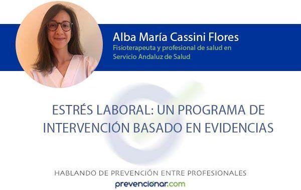 Estrés laboral: un programa de intervención basado en evidencias