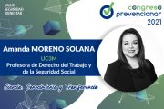 Entrevista con Amanda Moreno con motivo del III Congreso Internacional Prevencionar