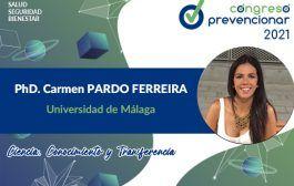 Entrevista con Carmen Pardo Ferreira con motivo del III Congreso Internacional Prevencionar