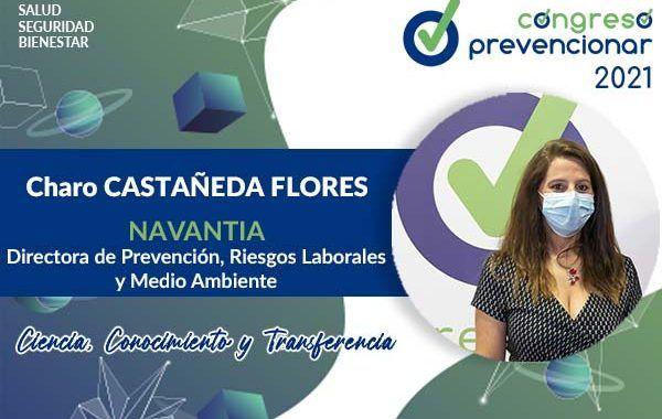 Entrevista con Charo CASTAÑEDA FLORES con motivo del III Congreso Internacional Prevencionar