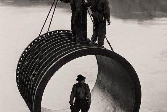 Trabajos en altura...........fotos para la historia