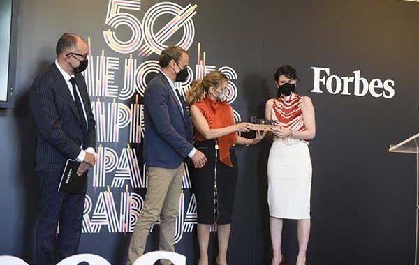 Forbes elige a SAP España como la mejor empresa para trabajar en 2021