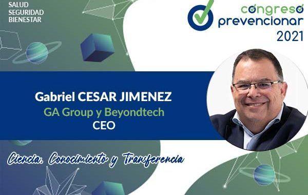 Entrevista a Gabriel César Jiménez con motivo del III Congreso Internacional Prevencionar