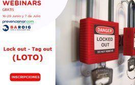 3 Webinars Bloqueo-Etiqueta (LOTO) #Gratis #Certificado
