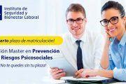 II Edición Máster en Prevención de Riesgos Psicosociales - Inicio 14 Octubre