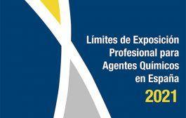 Nuevos límites de exposición profesional para agentes químicos 2021