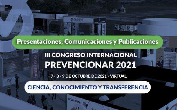 Call for Papers: III Congreso Internacional Prevencionar