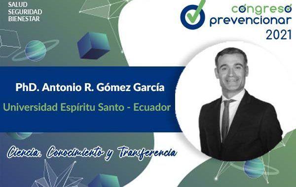 Entrevista a Antonio Gómez con motivo del III Congreso Internacional Prevencionar