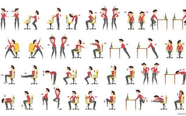¿Sabes cómo se deteriora la espalda y el cuello de los trabajadores en la oficina?