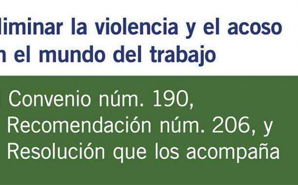 Eliminar la violencia y el acoso en el mundo del trabajo