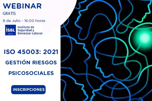 ISO 45003: Gestión de los riesgos psicosociales #webinar