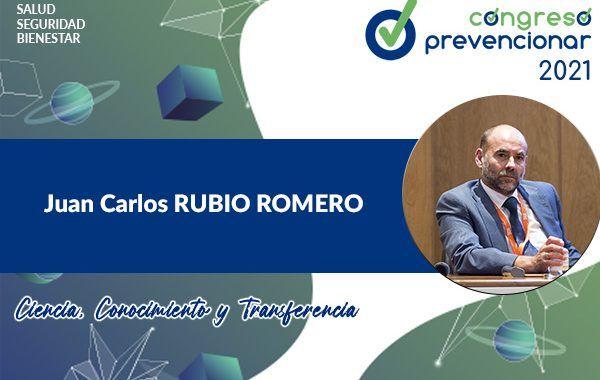 Entrevista con Juan Carlos Rubio Romero con motivo del III Congreso Internacional Prevencionar