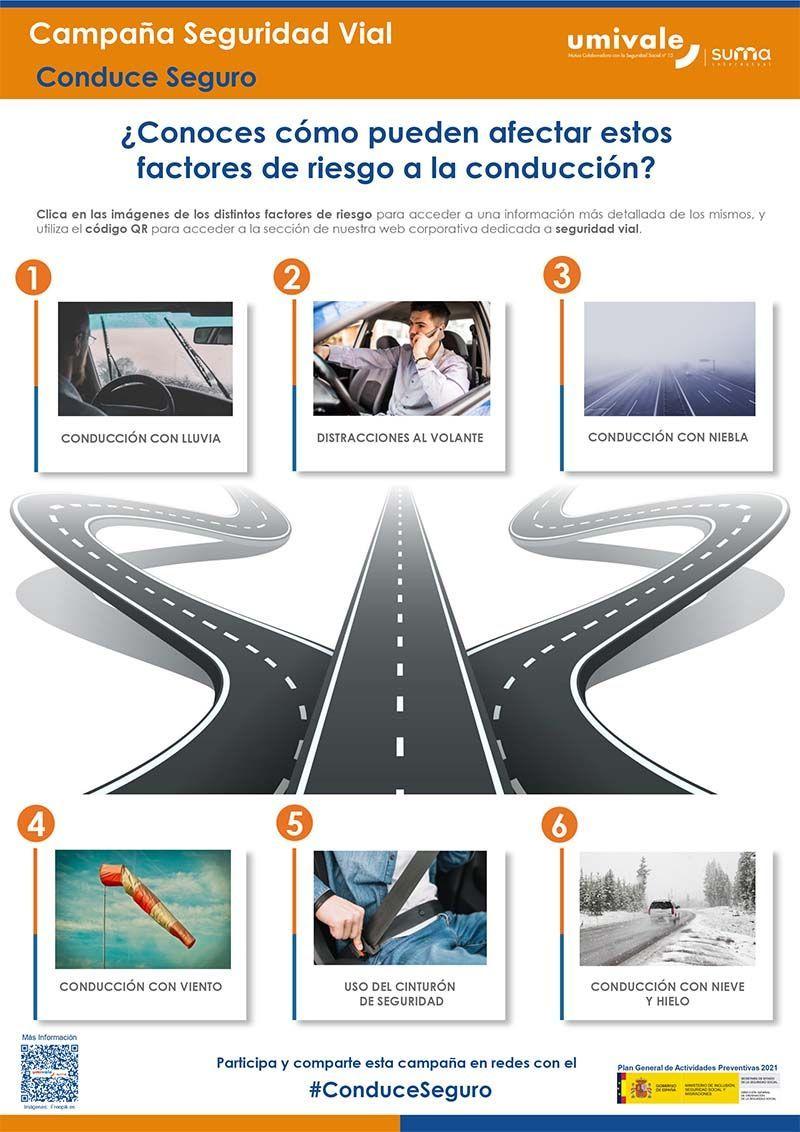 """""""Conduce seguro"""", la nueva campaña de seguridad vial de Umivale"""