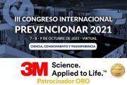 3M se convierte en patrocinador ORO del Congreso Internacional Prevencionar 2021
